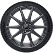 "Performance Wheel 18"" lightweight flow-form summer complete wheel with Ford Performance logo, 10-spoke design, Magnetite Matt"